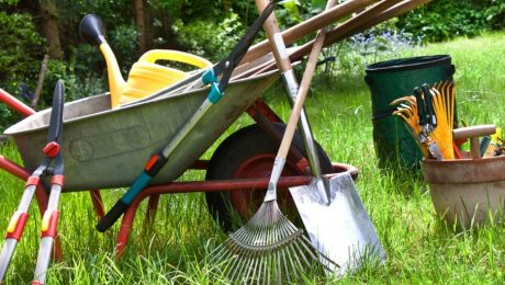 Landscaping-maintenance-equipment